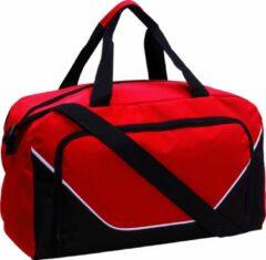 YoPromo Sporttas JORDAN rood/zwart