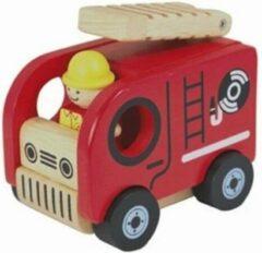 Rode I'm Toy Brandweer auto