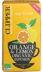 Clipper Orange & Lemon Infusion (20st)