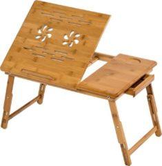 Bruine Merkloos / Sans marque Laptophouder laptoptafel laptop table voor op bed 401653