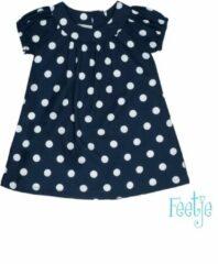 Feetje! Meisjes Jurk - Maat 62 - Donkerblauw - Katoen/polyester