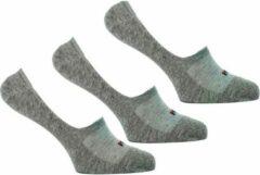Fila Invisible Ghost Sneakersokken - 3 pack - grijs - maat 43/46 - 3x 3pack - 9 stuks