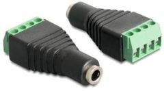 Delock Audio-Adapter - 4-poliger Anschlussblock (W) bis Mini-Phone Stereo 3,5 mm (W) 65457