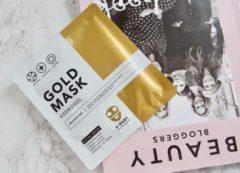 Gouden Additiva Gold Mask | 3 stuks | Helpt Droge Huid Hydrateren| Helps To Restore Dry Skin | Twin-pack