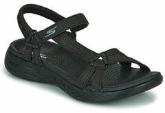 Zwarte Sandalen Skechers ON THE GO 600