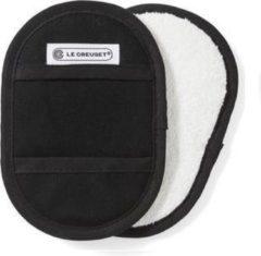 LE CREUSET - Textiel - Pannenlappen s/2 Ebbenzwart