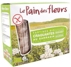 Le pain des fleurs Boekweit Crackers Pain Fleur - 2 x 75 gram
