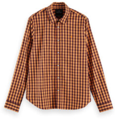 Oranje Scotch & Soda 158434 0217 regular fit classic check shirt