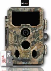Wildpix X2 20MP FullHD Wildcamera - Snelle 0.4 sec trigger met perfect nachtzicht - Nederlandse Software en Handleiding - Ook Ideaal als Beveiligingscamera - Met gratis SanDisk SD kaart