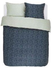 Blauwe Essenza Bory - Dekbedovertrek - Lits-jumeaux - 240x200/220 cm + 2 kussenslopen 60x70 cm - Blue