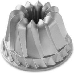 Zilveren Nordic Ware Kugelhopf Bundt bakvorm 23 cm