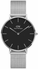 Zilveren Daniel Wellington Petite Sterling horloge DW00100304