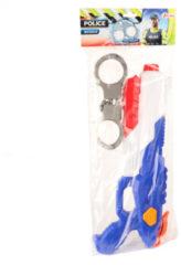 Toitoys Toi-toys Waterpistool Politie 40 Cm Junior Blauw/wit 2-delig