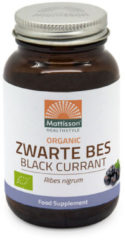 Mattisson Zwarte Bes - 120 vegicaps - Fruitpreparaat - Voedingssupplement