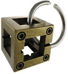 Hanayama Huzzle Breinbreker Cast Box 11,8 Cm Staal Brons