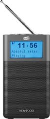 Antraciet-grijze Kenwood audio KENWOOD DAB+ RADIO CR-M10DAB-H