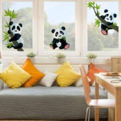PPS. Imaging Fensterfolie - Fenstersticker - Pandabären... 113cm x 170cm