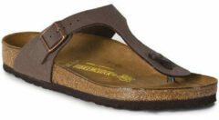 Birkenstock Gizeh Regular Mocca Slippers Dames Size : 35