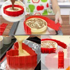 Favorite Things Flexibele siliconen bakvorm 'Bake Snake' voor taarten, cakes, brood in diverse vormen