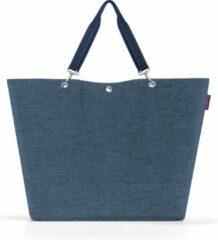 Reisenthel Shopper XL Strandtas Shopper - 35L - Twist Blue Blauw