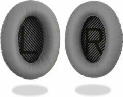 Grijze Mix-Media Oorkussens voor Bose QuietComfort AE2 / AE2W / AE2I / QC2 / QC15 / QC25 / QC35 - Oorkussens voor koptelefoon - Ear pads headphones