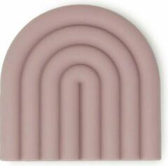 Paarse Mushie theether bijtspeelgoed rainbow - Mauve