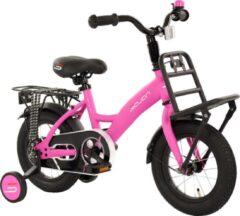 Sajan Kinderfiets - 12 inch - Mat-Roze - Meisjesfiets