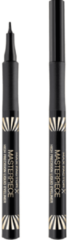 Zwarte Max Factor Masterpiece High Precision Liquid Eyeliner - 01 Velvet Black