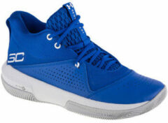 Blauwe Basketbalschoenen Under Armour SC 3Zero IV 3023917-400