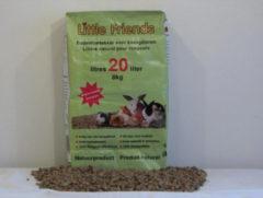 Bruine Little Friends Strokorrel - Kat, konijn en knaagdier - Bodembedekking en Kattenbakvulling - 8 kg