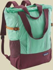 Patagonia Lightweight Travel Tote Pack variable Schultertasche Volumen 22 vjosa green