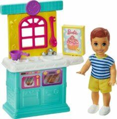 Barbie Skipper Babysitter Speelset Keuken Jongen - Modepop