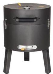 Gele Boretti Tonello Houtskoolbarbecue - geschikt voor tuin, balkon, camping, park
