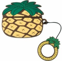 Misk Products Airpods Pro Hoesje | Airpods Pro Case | Japanse Cartoon Kawaii Stijl Cute | Ananas