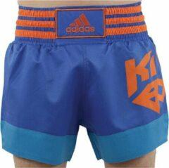 Adidas Kickboksshort Blauw Small