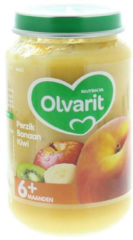 Olvarit Perzik Banaan Kiwi 6+ Maanden (1 Potje van 200g)