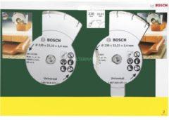 Bosch Diamanttrennscheiben für Fliesen und Baumaterial, 230mm