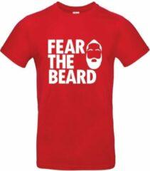 HoB Fear the Beard (James Harden) - NBA T-shirt - rood - XS