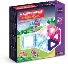 Magformers Inspire Magnetische Bouwset 3-9 jaar 14-delig