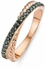 Roze Velini jewels -R6221BLW-62 -Ring -925 Zilver rosé -Gekleurde Cubic Zirkonia