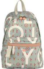 Oilily Groovy Letters BackPack LVZ OILILY 401 light blue