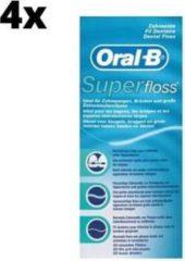 Oral-B Superfloss - 4 x 50 stuks - Flosdraad