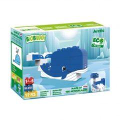 Blauwe BiOBUDDi bouwpakket Wildlife Arctic 12 delig (BB 0101)