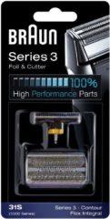 Braun 31S - Kombipack 5000 Scheerblad en trimmer Zilver 1 set