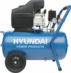 Hyundai Power Products Hyundai compressor 50 liter met vochtafscheider - 8 BAR - 67dB - 180 liter/minuut - 2PK - 1500W