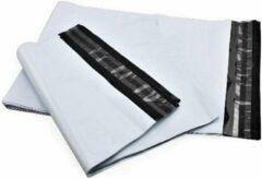 Grijze ArtiPack Verpakkingen Verzendzakken 35 x 45 cm – 50 my - webshop zakken - 50 stuks