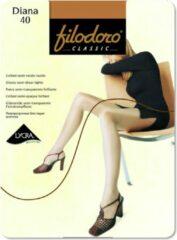 Zwarte Filodoro Diana 40 denier Nearly Black S