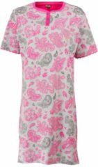 Medaillon Dames Nachthemd Rood MENGD1607 Maten: S