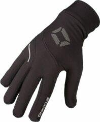 Stanno Running Handschoenen Sporthandschoenen - Zwart - Maat M