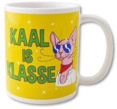 Paperdreams Funny Mugs 08- kaal is klasse